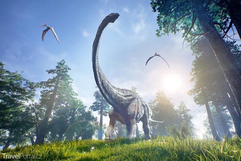 největší stopa dinosaura