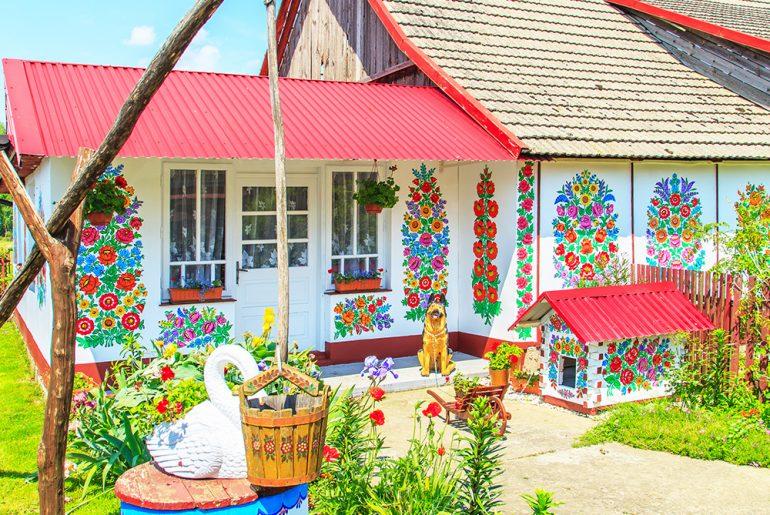 polská vesnice Zalipie