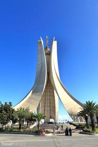 dominanta města Alžír