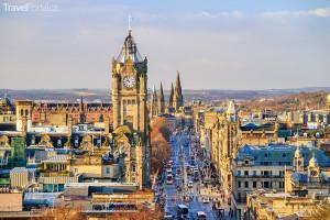 město Edinburgh