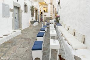 ulička na ostrově Patmos