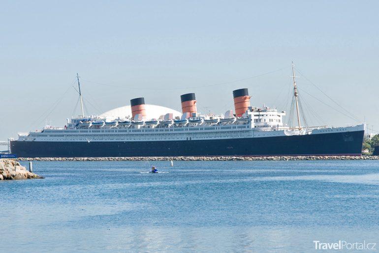 slavný parník Queen Mary