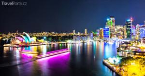 Sydney v noci