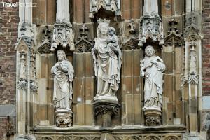 katedrála ve městě Cáchy