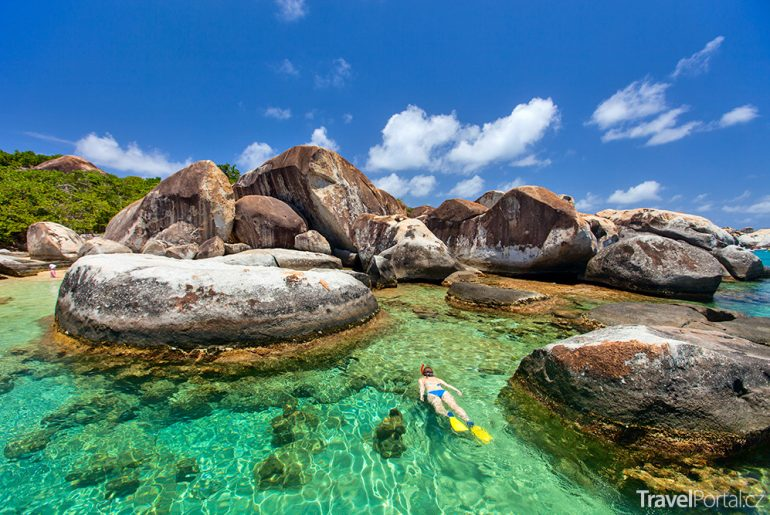 The Baths na ostrově Virgin Gorda