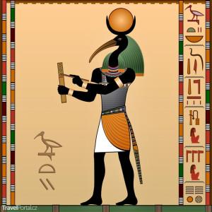 egyptský bůh Thovt