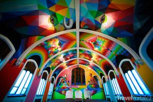 kostel zasvěcený marihuaně