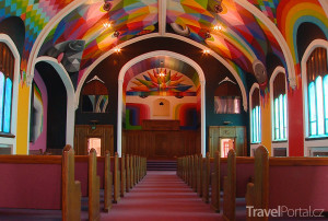 kostel v Denveru, kde si lze odpálit špeka