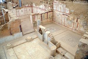ruiny ve městě Efez