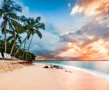 pláž na Cayo Levantado
