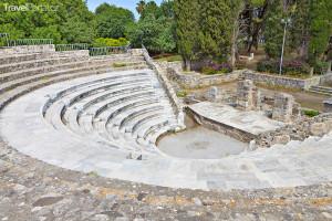 amfiteátr Odeon ve městě Kos