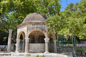 Hippokratův platan na ostrově Kos