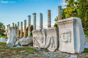 Forum Romanum ve městě Aquileia