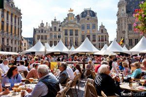 pivní slavnosti v Bruselu