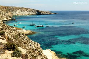 ostrov Lampedusa