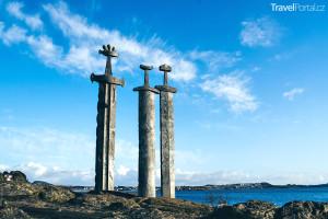 památník Sverd i fjell