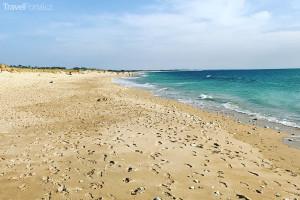 pláž na ostrově Oléron