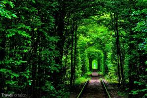 Tunel lásky u Klevanu