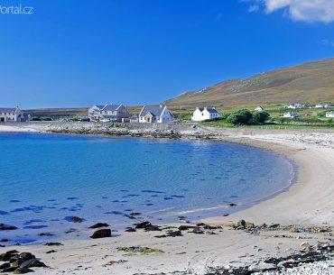 pláž na ostrově Achill Island