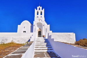 Panagia Chrysopigi na ostrově Sifnos