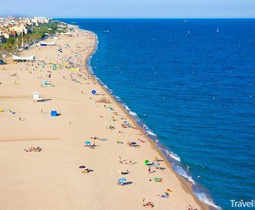 Calella na pobřeží Costa del Maresme