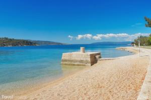 pláž na ostrově Cres