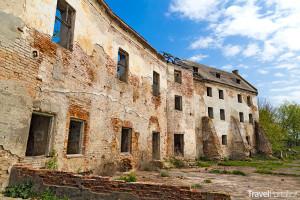 zřícenina hradu v Klevanu