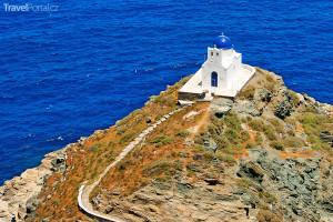 kostelík na ostrově Sifnos