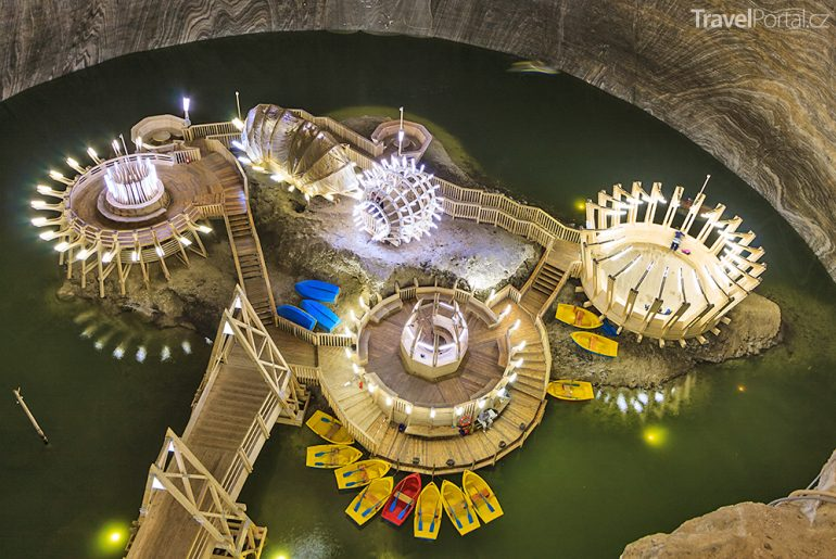 umunský důl Salina Turda