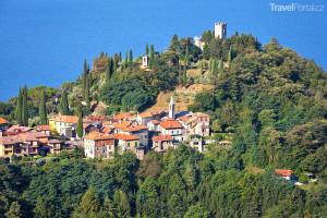hrad Vezio a Lago di Como