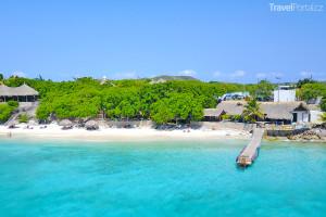 pláž Kalki na ostrově Curacao