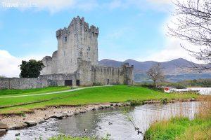 Ross Castle v národním parku Killarney