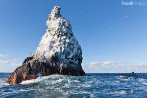 Roca Partida v souostroví Revillagigedo