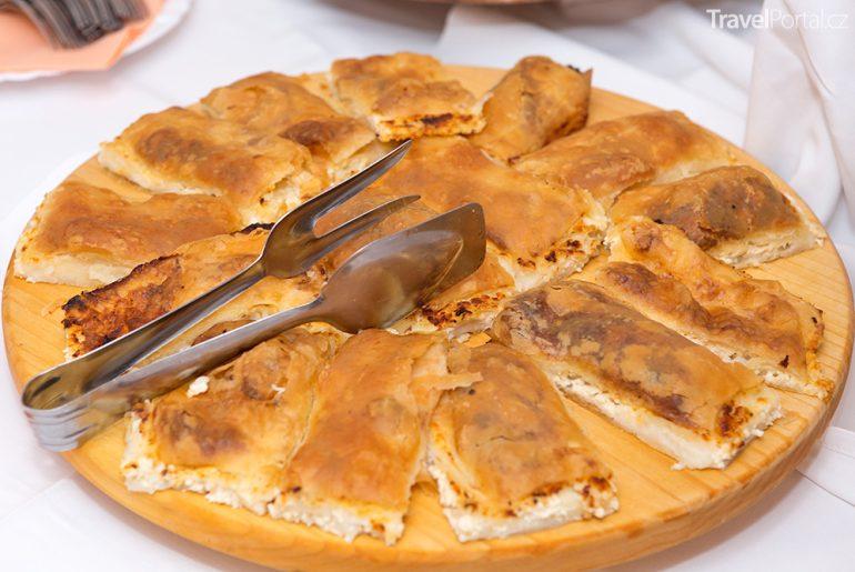 chorvatská kuchyně - zagorski štrukli