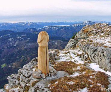 dřevěný penis na Östcheru