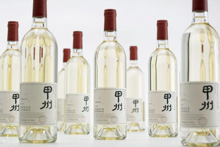 japonské víno koshu