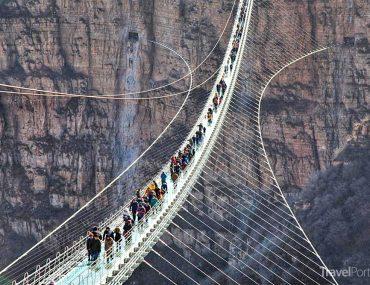 nejdelší skleněný most na světě