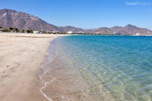 pláž v Khor Fakkan