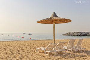 pláž ve Fujairah