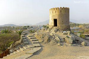 strážní věž u mešity Al Bidya
