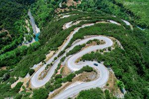 oblast Zagori v regionu Epirus