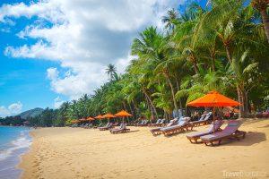 thajské pláže - Koh Samui