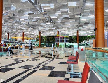 singapurské letiště Changi