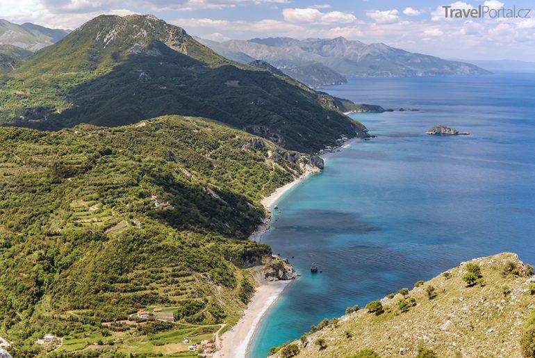 ostrov Evia neboli Euboia