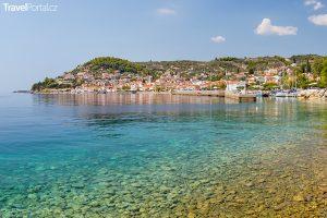 vesnice Limni na ostrově Evia