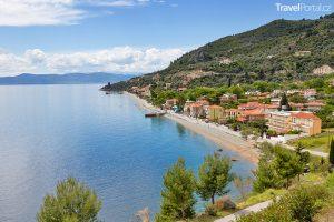 vesnice Ilia na ostrově Evia