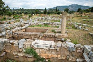 Eretria na ostrově Evia