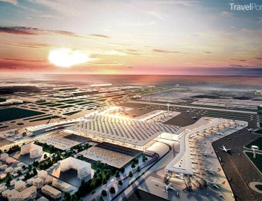 nové letiště v Istanbulu – vizualizace