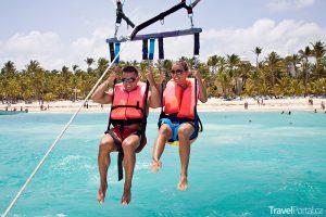 Květnové svátky 2018 aneb Parasailing v Dominikánské republice