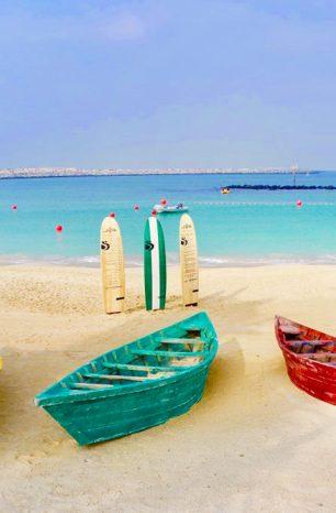 La Mer: Nová pobřežní zóna v Dubaji nabízí dlouhou pláž i obchody